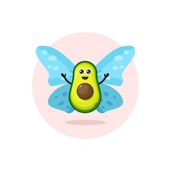 Avocado-schmetterling