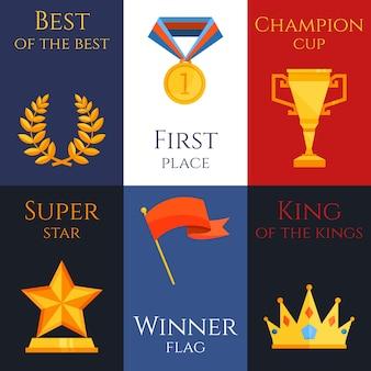 Award-mini-poster-set