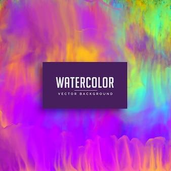 Awesome aquarell textur hintergrund mit fließenden farbe