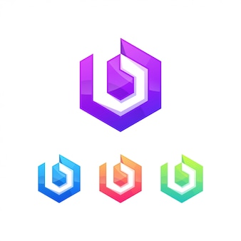 B-buchstaben-logo-symbolzeichen