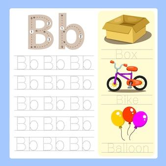 B übungs-cartoon-vokabular