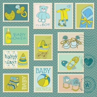 Baby boy briefmarken