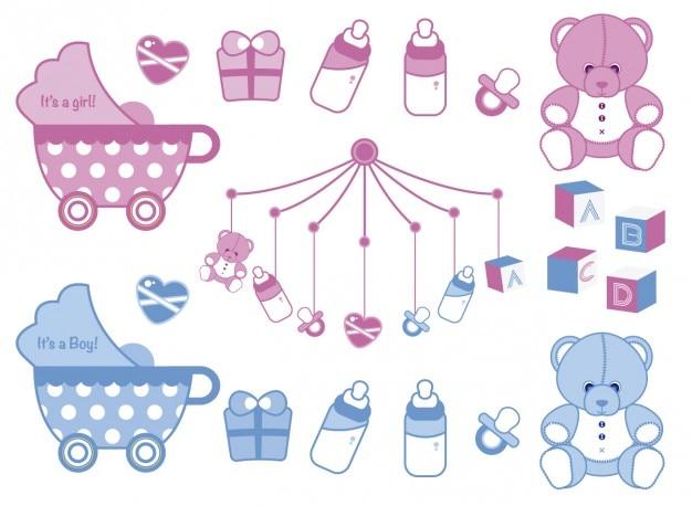 Baby-dusche-sammlung