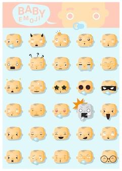 Baby emoji-symbole