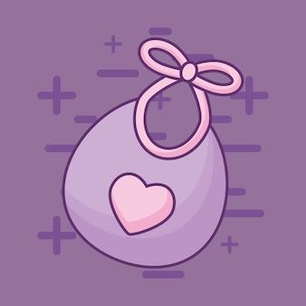 Baby-lätzchen-symbol