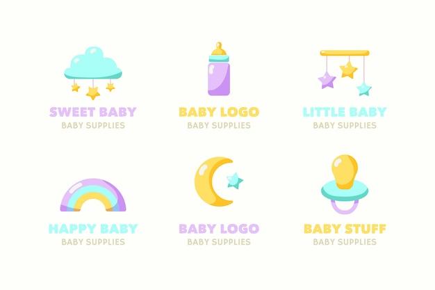 Baby-logo-sammlung
