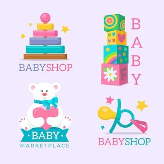 Baby logo set pack