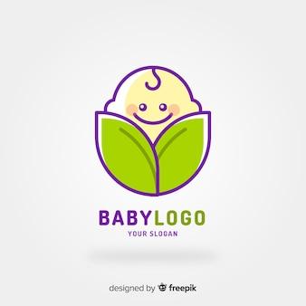 Baby-Logo-Vorlage