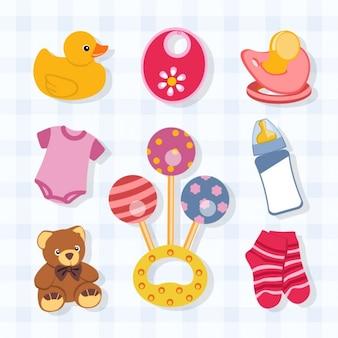 Baby-objekte sammlung