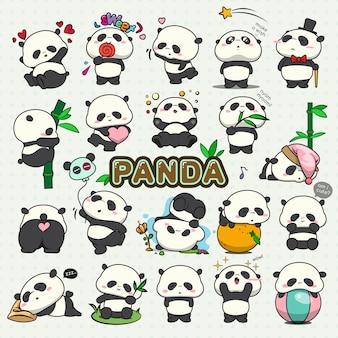 Baby panda set