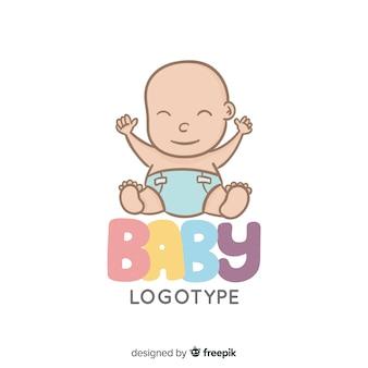 Baby-schriftzug