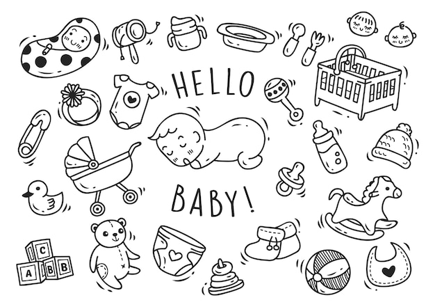 Baby spielzeug und accessoires doodle