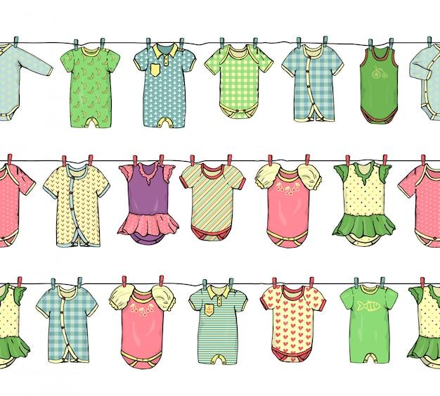 Babykleidung grenze