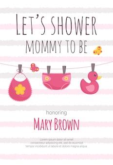 Babyparty einladungsvorlage