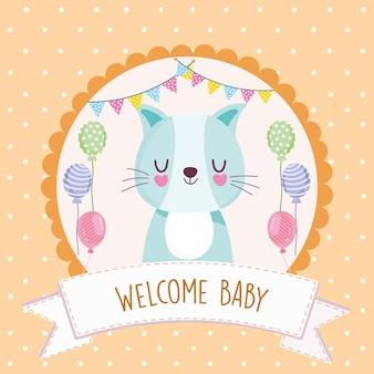 Babyparty willkommen