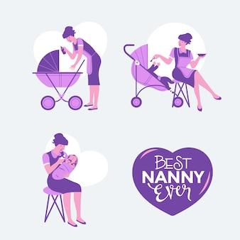 Babysitter agentur oder kindermädchen service