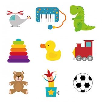 Babyspielzeug design.