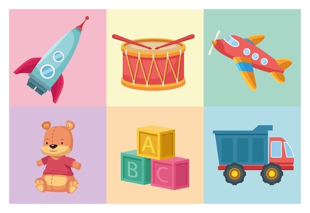Babyspielzeug-set