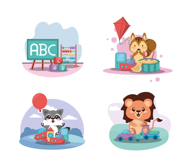 Babyspielzeugset
