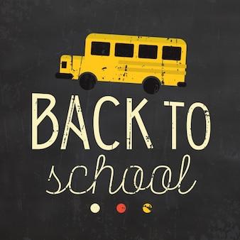 Back to school hintergrund-design