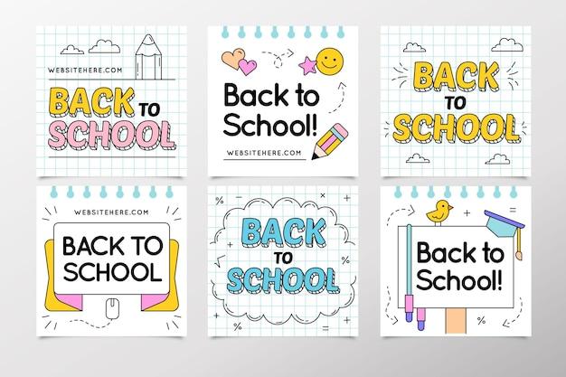 Back to school instagram beiträge sammlung