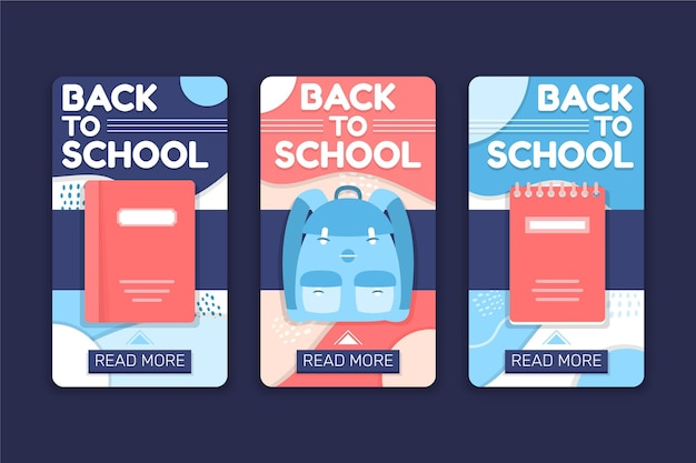 Back to school instagram geschichten packen