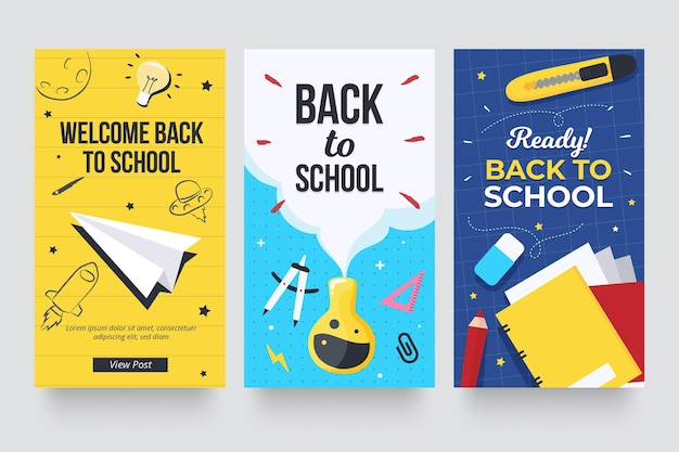 Back to school instagram geschichten