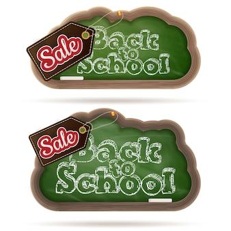 Back to school marketing hintergrund.