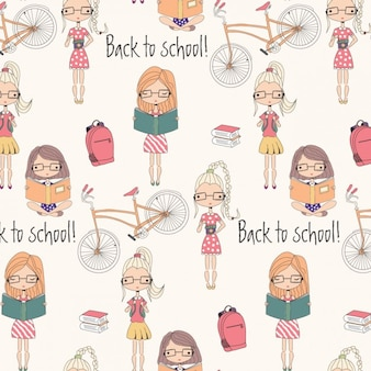 Back to school-musterentwurf