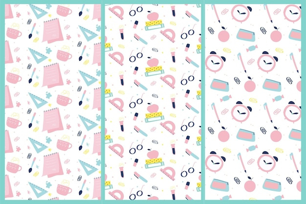 Back to school pattern pack
