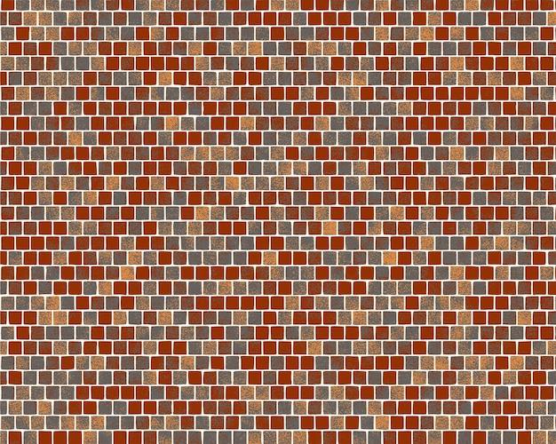 Backsteinmauer-illustrationshintergrund. einfache vektortextur