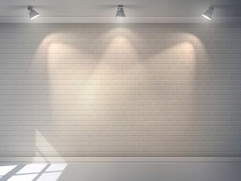 Backsteinmauer realistisch
