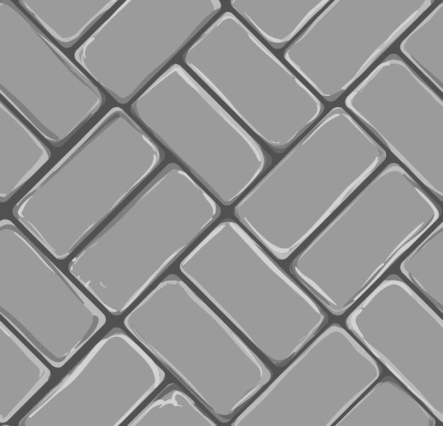 Backsteinpflaster hintergrundmuster mit grautönen