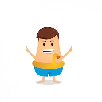 Badende avatar design