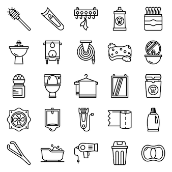 Badezimmer icons pack