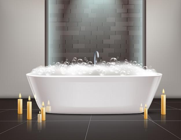 Badezimmer-innenarchitektur