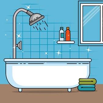 Badezimmer von wohndesign