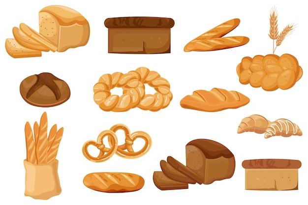 Bäckerei-auflistung