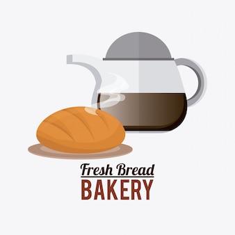 Bäckerei-design.