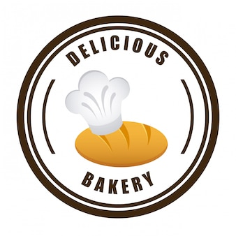 Bäckerei einfaches element