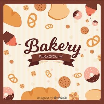 Bäckerei-hintergrund