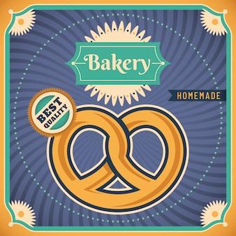 Bäckerei-hintergrunddesign