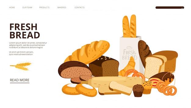 Bäckerei landing page