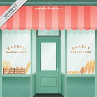 Bäckerei-shop eingang
