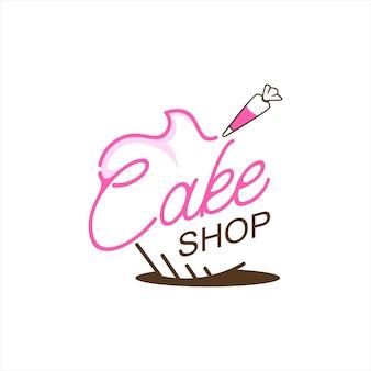 Bäckerei shop logo ideen design vektor