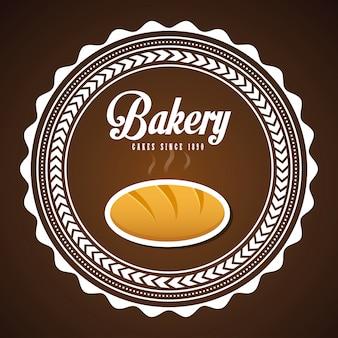 Bäckerei-symbol