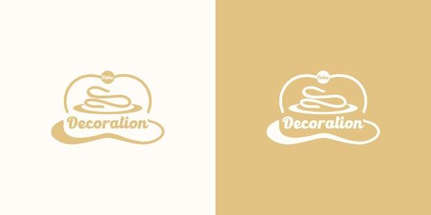 Bäckereilogo, kuchenlogo, referenz für unternehmen