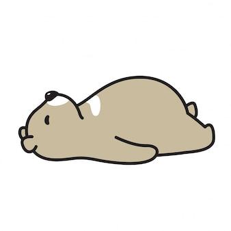 Bär schlafen