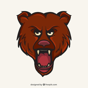Bären-maskottchen