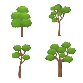 Bäume wald natur symbol